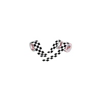"ISC Racers Tape RT5005 Checkerboard Racing Tape 3"" x 45' Foot"