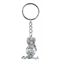 GENUINE HOTROD HARDWARE RAT FINK KEY CHAIN RTA-RNV21 ZINC ALLOY