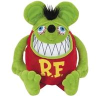"RTA-RNV36 Rat Fink Plush Figure / Pillow - 14"" Tall"