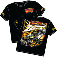 AEROFLOW THE BANDIT OUTLAW NITRO FUNNY CAR T SHIRT SMALL RTBAN-SMALL
