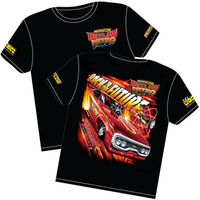 AEROFLOW BACK TO THE FUTURE OUTLAW NITRO FUNNY CAR T SHIRT X LARGE RTBTF-XL