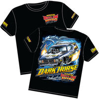 AEROFLOW DARK HORSE OUTLAW NITRO FUNNY CAR T SHIRT X LARGE RTDH-XL