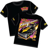 'Fast Company' Plymouth Arrow Outlaw Nitro Funny Car T-Shirt (XXX-Large) (RTFC-XXXL)