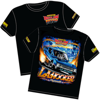 'L.A. Hooker' Plymouth Arrow Outlaw Nitro Funny Car T-Shirt (Medium) (RTLA-MEDIUM)