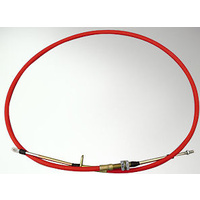 RTS 5FT PERFORMANCE SHIFTER CABLE THREAD & EYELET ENDS RED SUPER DUTY RTS-80833