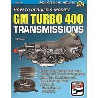 SAD-SA186 How To Rebuild & Modify GM Turbo 400 Transmissions Book Paperback