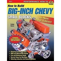SAD-SA87 How To Build Big Inch Chevy Small Blocks Book Paperback 128 Pages