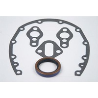 SCE SCE11103 Chev Small Block Gen 1 Timing Cover, Fuel, Water, Rear M Gasket Set