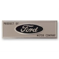 FORD MUSTANG DOOR SILL SCUFF PLATE EMBLEM SDC5ZZ6513208T 1964-1966 FORD MUSTANG