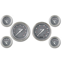 "Classic Instruments (SG51SLF) SG Series 4 5/8"" Speedo & Tach, 2 1/8"" Fuel, Oil,"