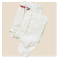 SIMPSON NOMEX UNDERWEAR PANTS FULL LENGTH MEDIUM SFI 3.3 WHITE SI20501M