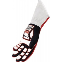 SIMPSON COMPETITOR NOMEX DRIVING GLOVES SFI 3.3/5 SIZE X-LARGE BLACK SI21300XK