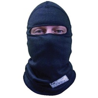 SIMPSON CARBONX HEADSOCK BALAKLAVA SINGLE EYEPORT BLACK SI23000C