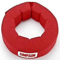SIMPSON NOMEX NECK SUPPORT SFI 3.3 RED SI23022R