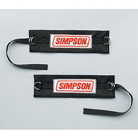 SIMPSON DRAG RACE ARM RESTRAINTS SFI 3.3 BLACK SI36000BK