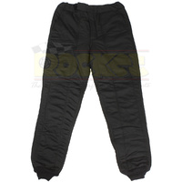 5 Layer Driving Pants (Large Black STD.48 Signature Knit Nomex SFI-20) (SI4802333)