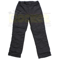 2 LAYER PANTS 2X LARGE BLACK