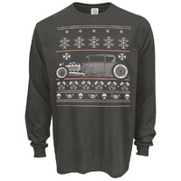 Rat Rod Christmas Long Sleeve T-Shirt *SPECIAL ORDER ONLY*
