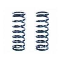 "STRANGE 2.5"" X 12"" LONG COIL OVER SPRINGS STSP12200, 200 lbs/in RATE BLUE 1 PAIR"
