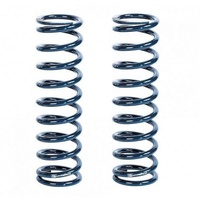 "STRANGE 2.5""ID X 14"" LONG COIL OVER SPRINGS 175 LBS/IN RATE STSP14175 BLUE PAIR"