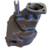 Cast Iron Oil Pump (Suit BB Chev With Billet Hard Black Anodized Cap, Adjustable Pressure & Anti-Aeration) (SY234-900773-1)