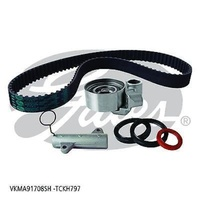 GATES TIMING BELT KIT TCKH797 TOYOTA LAND CRUISER 70SERIES 4.2 TD,80 SERIES