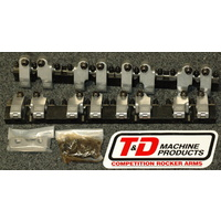 T&D TD2300-60-50 Chev Small Block w/ AFR 227/235 Eliminator Heads Roller Rockers