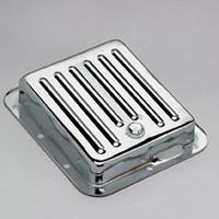 TRANS DAPT CHROME FINNED STOCK TRANSMISSION PAN TD9531 SUIT FORD C4 TRANSMISSION