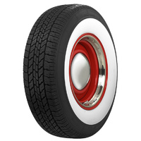 "Coker Classic TIRCO21575R15WW Radial Tyre 215/75R/15 2-3/8"" Whitewall (each)"