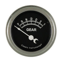 "Classic Instruments (TR06SLF) Traditional 2 1/8"" Gear Indicator w/overdrive"