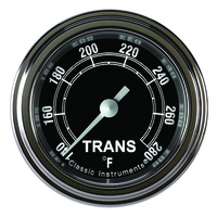 "Classic Instruments (TR127SLF) Traditional 2 1/8"" Full Sweep Trans Temp"