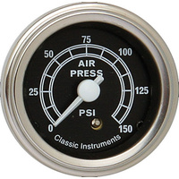 "Classic Instruments (TR16SLF) Traditional 2 1/8"" Air Pressure"