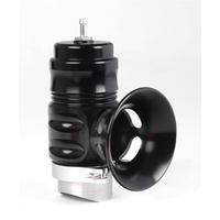 TURBOSMART UNIVERSAL BUBBA SONIC BOV SLEEPER TS-0204-1303 BLACK, WELD-ON FLANGE