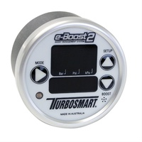 TURBOSMART E-BOOST 2 60mm BOOST CONTROLLER TS-0301-1001 WHITE 6 STAGE 0-60 PSI
