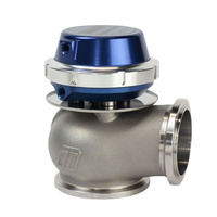 TURBOSMART HYPER GATE WG45 WASTEGATE 14PSI TS-0506-101 BLUE 45mm RELEIF DIA