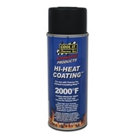 Thermo Tec TT12001 Hi-Heat Exhaust Wrap Coating Spray Black 11oz. (325ml)