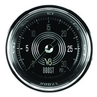 "Classic Instruments (V8SR142SHC) V8 Speedster 2 1/8"" Full Sweep Electric Boost 3"