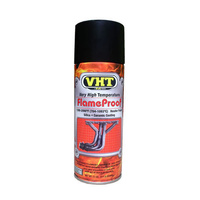 VHT HIGH TEMPERATURE FLAME PROOF COATING SPRAY PAINT 11 OZ FLAT BLACK VHTSP102
