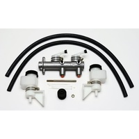 "1"" Combination Remote Tandem Master Cylinder with Remote Fluid Reservoirs (WB260-7563)"