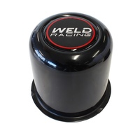 "Weld Racing WEP605-5083B Replacement Weld Centre Cap Black 3"" Tall"
