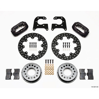 WILWOOD DYNALITE DRAG RACE REAR BRAKE KIT WIL140-0261-BD BIG FORD OLD STYLE 2.36