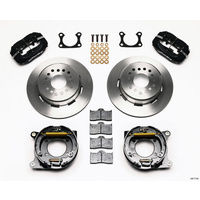 "WILWOOD DYNALITE 4 SPOT REAR BRAKE KIT 9in FORD 2.36"" AXLE OFFSET WB 140-1739"