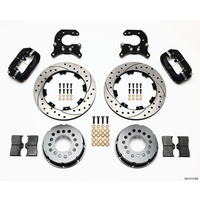 "WILWOOD DYNAPRO 4 SPOT REAR BRAKE KIT FORD 2.66"" AXLE OFFSET WB 140-2113-BD"