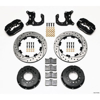 WILWOOD DYNALITE PRO REAR BRAKE KIT DRAG RACE BIG FORD NEW STYLE WIL140-2118-BD