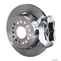 "WILWOOD DYNALITE REAR PARK BRAKE KIT FORD 9"" 4 SPOT POLISHED WB 140-7140-P"