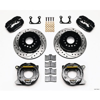 WILWOOD WIL140-7143-D-DB DYNALITE 4 SPOT REAR BRAKE KIT FORD DUSTBOOT CALIPERS
