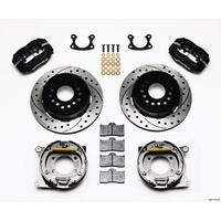 "WILWOOD DYNALITE REAR PARK BRAKE KIT SMALL FORD 9"" 4 SPOT DRILLED WB 140-7143-D"