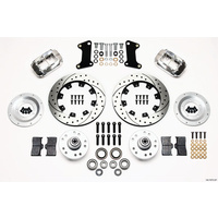 WILWOOD DYNALITE PRO FRONT BRAKE KIT DRILLED/POLISHED HQ TORANA WB 140-7675-DP