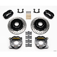 "Wilwood WIL140-9282-D Ford 9"" 4 Spot Forged Dynalite Rear Parking Brake Kit"