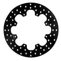 "WILWOOD CROSS DRILLED STEEL ROTOR 12"" X .35"" THICK 8X7"" BOLT CIRCLE WIL 160-0525"